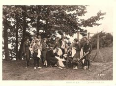 Camping 1920's