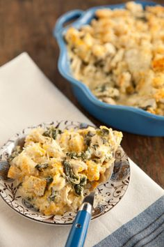 Chicken Florentine from Paula Deen | nice and unhealthy.