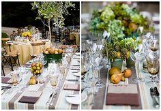 Pear wedding theme