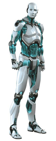 androide Smart Security Robot by Puppetworks Studios for Eset *the light blue-green accents are intriguing * I Robot, Cool Robots, Robot Art, Tattoos Bras, Nono Le Petit Robot, Science Fiction, Character Concept, Character Design, Rpg Star Wars