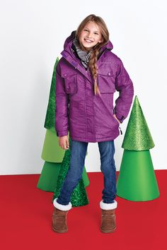 Northpeak® Kids' 3-In-1 System Jackets Girls '
