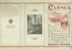 Semana Santa 1930 Programa de la Semana Santa de Cuenca 1930 #SemanaSanta #Cuenca