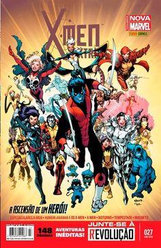 LIGA HQ - COMIC SHOP X-MEN EXTRA (MARVEL NOW) #27 PARA OS NOSSOS HERÓIS NÃO HÁ DISTÂNCIA!!!