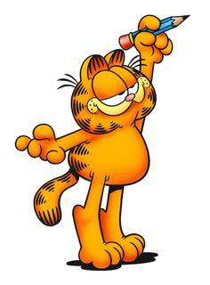 Dear Jim Davis, Thank you for creating Garfield! Garfield Quotes, Garfield Cartoon, Garfield And Odie, Garfield Comics, Cartoon Drawings, Cartoon Art, Cartoon Characters, Old Cartoons, Disney Cartoons