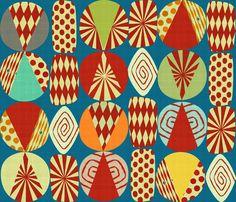 xmas_minimalist_blue150 fabric by chicca_besso on Spoonflower - custom fabric