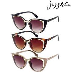 Friday Style!  Modelo Cateye | z sua escolha aqui na Jazz. Faça você também  #Soujazz #sunglasses #eyewear #lojajazz #shades #style #goiania