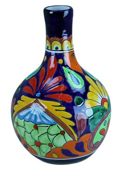 Large Talavera Decanter