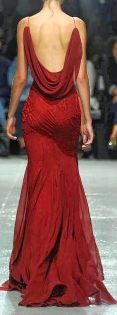 Christmas at Miss Millionairess's... beautiful red gown