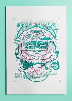 $290 - Rituals x Drunk Park x Ben Ashton-Bell - Limited Edition of 1 - Letterpress Printed