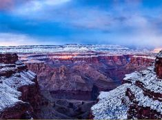 Viaggi: Photo by // Winter in the Canyon. The storm was far stronger than we anticipated, maki. National Geographic, Mother Nature, Grand Canyon, This Is Us, Journey, Landscape, Winter, Places, Travel