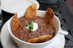 Fabulous Vegetarian Chili From Hop Cat In Grand Rapids