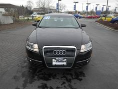 2007 Audi A6, Brilliant Black, 12241589    http://www.phillipschevy.com/2007-Audi-A6-32-Chicago-IL/vd/12241589
