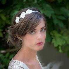Vesna Garic | Bijoux d'élégance en porcelaine Headband Flore