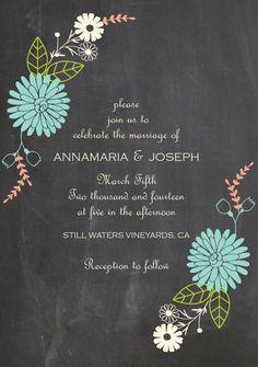 Go Digital With 18 Eco-Friendly Save the Dates + Wedding Invitations via Brit + Co