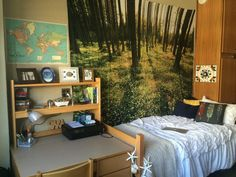 Hipster bedroom ideas us cozy bedroom ideas Cool Dorm Rooms, College Dorm Rooms, Patio Interior, Interior Exterior, Cozy Bedroom, Bedroom Decor, Bedroom Ideas, Bedroom Inspo, Bedroom Inspiration