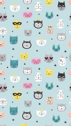 Owl Wallpaper Iphone, Cat Wallpaper, Pastel Wallpaper, Kawaii Wallpaper, Tumblr Wallpaper, Flower Wallpaper, Disney Wallpaper, Cartoon Wallpaper, Wallpaper Gatos
