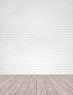 cleffru White Brick Texture Wall With Old Wood Floor Mat Photography Backdrop Old Wood Floors, White Wood Floors, White Brick Walls, Rustic Wood Walls, Brick Flooring, Wall Wood, Wood Floor Texture, White Wood Texture, Brick Texture