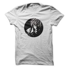 Kira Death Note - #white tshirt #wrap sweater. ADD TO CART => https://www.sunfrog.com/TV-Shows/Kira-Death-Note.html?68278