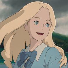 Old Anime, Anime Guys, Anime Art, Studio Ghibli Art, Studio Ghibli Movies, When Marnie Was There, Matching Profile Pictures, Anime Girl Cute, Aesthetic Anime