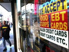 6 Myths About Welfare Recipients Debunked  Read more at: http://www.forwardprogressives.com/6-myths-welfare-recipients-debunked/ ebt-food-stamp