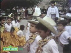 If you're watching videos with your preschooler and would like to do so in a safe, child-friendly environment, please join us at http://www.sesamestreet.org    Kids celebrate Cinco de Mayo at a festival.    Sesame Street is a production of Sesame Workshop, a nonprofit educational organization which also produces Pinky Dinky Doo, The Electric Com...