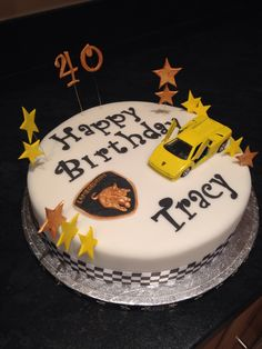 Lamborghini Cake! 40th Birthday