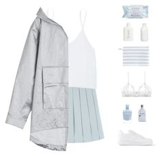 """""""tag"""" by elderflowers ❤ liked on Polyvore featuring Talula, T By Alexander Wang, NIKE, Only Hearts, Zoya, Alder New York, Crate and Barrel and First Aid Beauty"""