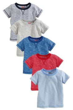 Buy Multi Short Sleeve Essentials Tops Five Pack (3mths-6yrs) online today at Next: Sweden