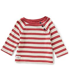 Ralph Lauren Childrenswear Little Girls 2T6X BoldStripe Jersey Knit Tee #Dillards