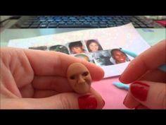 Modelagem de rosto realista em Biscuit para noivinhos - YouTube
