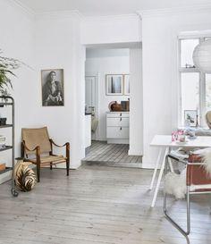 nordic, fresh bohemian home...