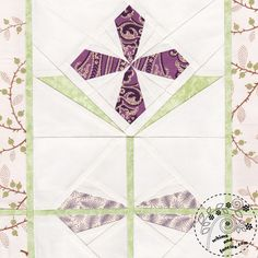 Garnet Primrose Flower Quilt Pattern   Whims And Fancies