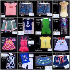 Looking for some new clothes for little in your life?  Don't Miss Today's Deals!  https://baby-girl-heaven.myshopify.com