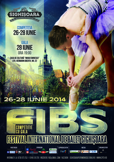 Competitie internationala de balet  26 - 28 iunie 2014