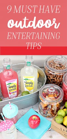 Wondering what will be your new best friend for easy and stress-free get-togethers this summer? It has to be these 9 Must Have Outdoor Entertaining Tips and this guide for How to Get Party Ready In 30 Minutes. For example, this hack for using cupcake liners to cover glasses filled with Gold Peak® Sweet Tea, Simply Lemonade®, and Simply Lemonade® with Raspberry is genius! Find these party essentials and more at your local Walmart.
