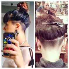 Best 25+ Side undercut ideas on Pinterest | Long undercut, Shaved side hair and Shaved side ...