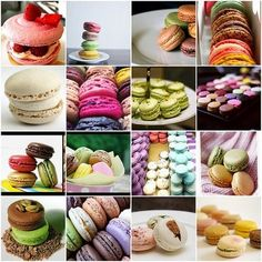 There are two ways to spell these yummy treats:  American Lingo::Macaroons or say it like the French::Macaron. Description from charmedeventsplanning.com. I searched for this on bing.com/images