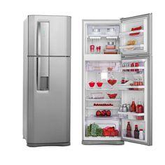 Geladeira/Refrigerador Electrolux DW42X 380 Litros 2 Portas Frost Free Inox -Eletrodomésticos - 2 Portas - Duplex - Walmart.com