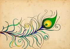 Peacock Feather Wallpaper | Peacock Feather Wallpaper by dropdeadchewy