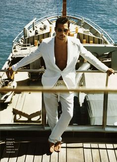 David Gandy by Jack Pierson for Vogue Hommes International