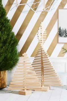 Christmas Tree Alternatives For Small Homes. Styling by Joseph Gardner. Photography by Sam McAdam-Cooper.