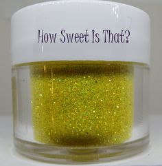 Yellow Citrine Disco Dust by Sunflower Sugar Art