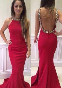 High quality prom dress,long prom dress,mermeid prom dress,beautiful beading Evening Dress,Elegant Women dress,Party dress L455