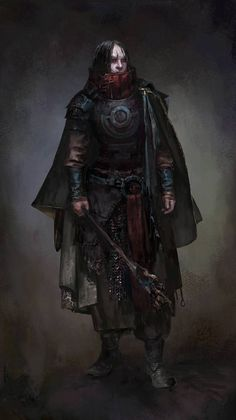 ArtStation – Concept-art for the Sigil project., Lucy Lisett ArtStation – Concept-art for the Sigil project. Dungeons And Dragons Art, Dungeons And Dragons Characters, Dnd Characters, Fantasy Characters, Fantasy Warrior, Fantasy Rpg, Dark Fantasy Art, Fantasy Artwork, Fantasy Character Design