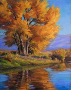 The North Fork Of Bishop Creek 11x14 Pastel -- Joe Mancuso