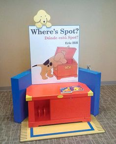 'Where's Spot' in the Storyland exhibit at the Minnesota Children's Museum in St. Paul