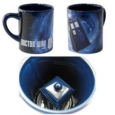 Doctor Who Hidden Tardis Coffee Mug Cup Gift Geek Collector Dr. Who Collectible in | eBay