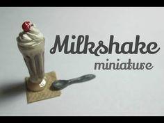 Polymer Clay Milkshake Tutorial - No Glass (Miniature Mondays) - YouTube