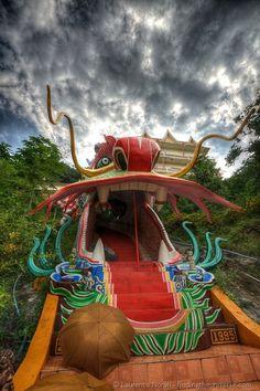 Wat Ban Tham cave temple, Kanchanaburi Thailand