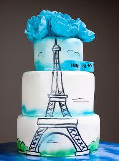Eiffel Tower Cake-1